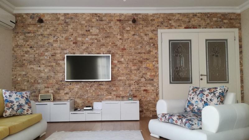 Tv arkası Doğal taş